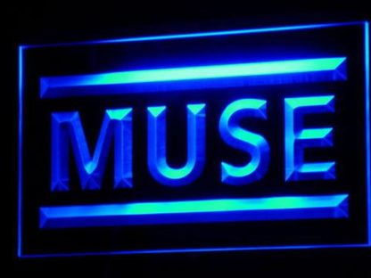 Muse neon sign LED
