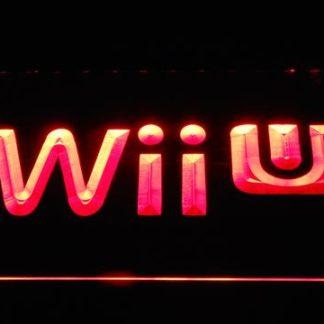 Nintendo Wii U neon sign LED