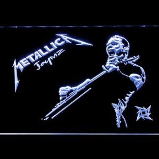 Metallica James Hetfield neon sign LED