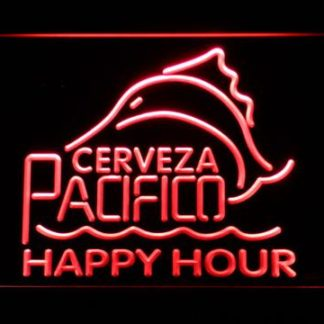 Cerveza Pacifico Happy Hour neon sign LED