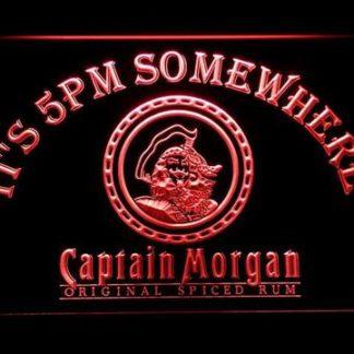 Captain Morgan Original It's 5pm Somewhere neon sign LED