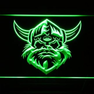 Canberra Raiders Head neon sign LED