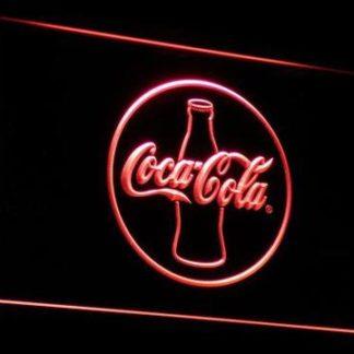 Coca-Cola Silhouette neon sign LED
