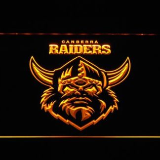 Canberra Raiders neon sign LED