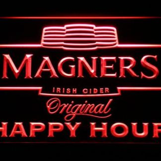 Magners Happy Hour neon sign LED