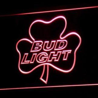 Bud Light Shamrock neon sign LED