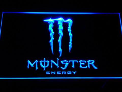 Monster Energy neon sign LED