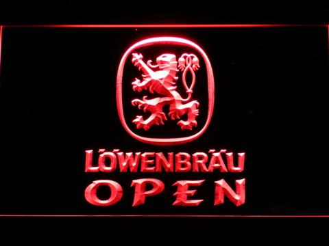 Lowenbrau Open neon sign LED