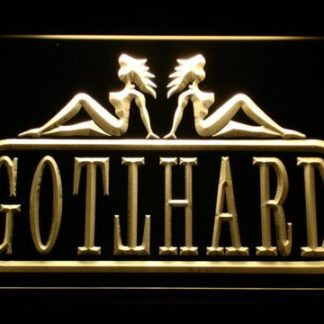 Gotthard neon sign LED