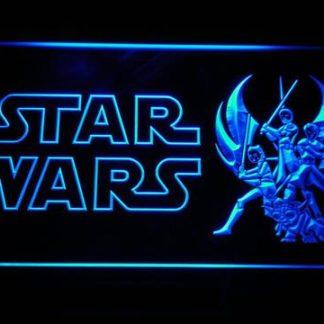 Star Wars Ahsoka, Obi-Wan, Yoda & Anakin neon sign LED