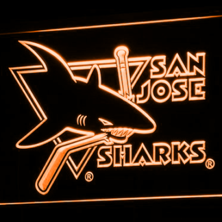 San Jose Sharks - Legacy Edition neon sign LED