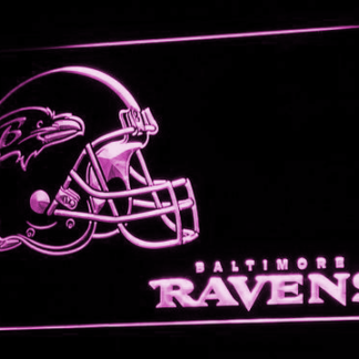 Baltimore Ravens 2 neon sign LED