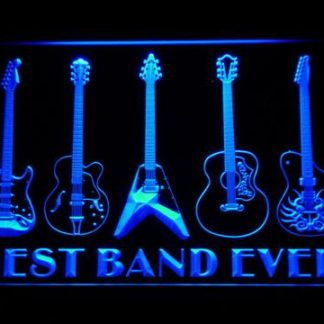 Guitars Best Band Ever neon sign LED