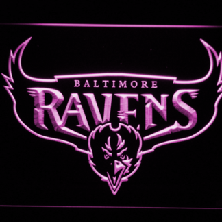 Baltimore Ravens 1996-1998 - Legacy Edition neon sign LED