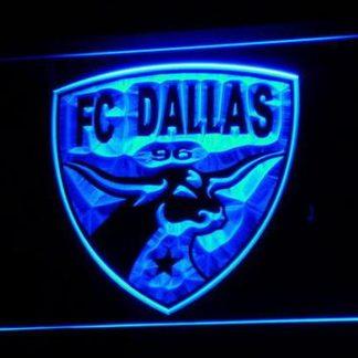 Dallas FC neon sign LED