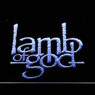Lamb of God neon sign LED
