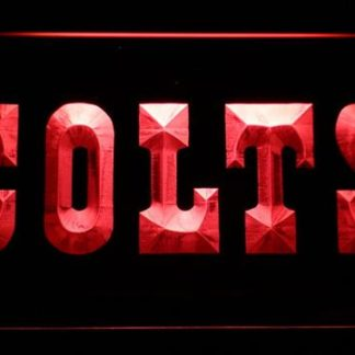 Indianapolis Colts Text neon sign LED