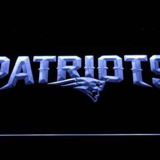 New England Patriots Wordmark neon sign LED