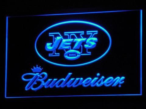 New York Jets Budweiser neon sign LED