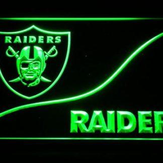 Oakland Raiders Split neon sign LED