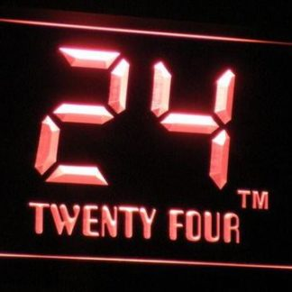 24 - Twenty Four neon sign LED