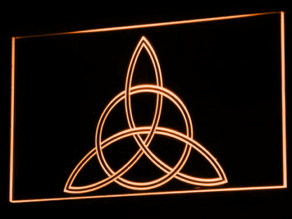 Charmed Triquetra neon sign LED