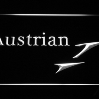 Austrian Airlines neon sign LED