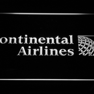 Continental Airlines neon sign LED