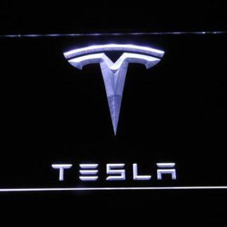 Tesla neon sign LED