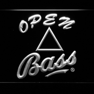 Bass Open neon sign LED