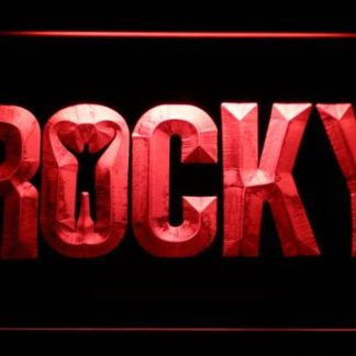 Rocky neon sign LED
