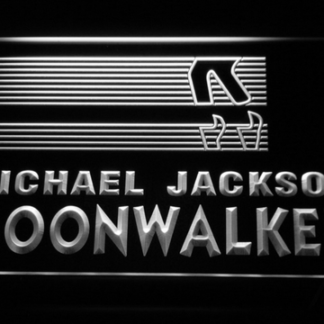 Michael Jackson Moonwalker Bars neon sign LED