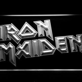 Iron Maiden neon sign LED