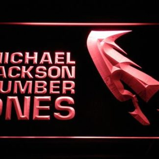Michael Jackson Number Ones neon sign LED