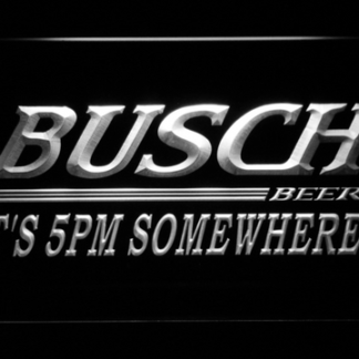 Busch It's 5pm Somewhere neon sign LED