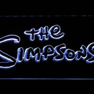 The Simpsons neon sign LED