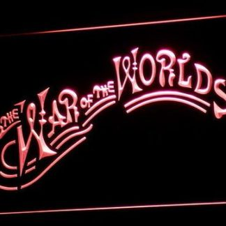 War of the Worlds neon sign LED