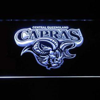 Central Queensland Capras neon sign LED