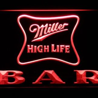 Miller High Life Bar neon sign LED
