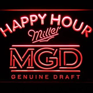 Miller MGD Happy Hour neon sign LED