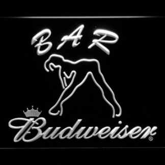 Budweiser Woman's Silhouette Bar neon sign LED
