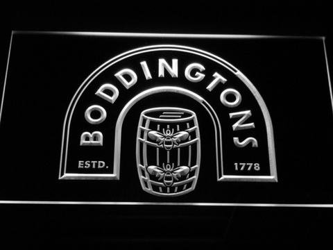 Boddingtons neon sign LED