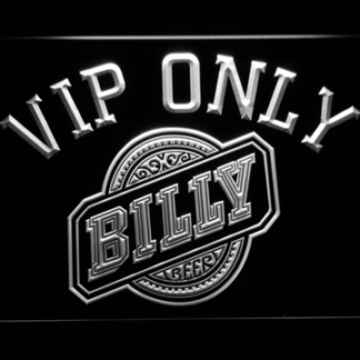 Billy Beer VIP Only neon sign LED