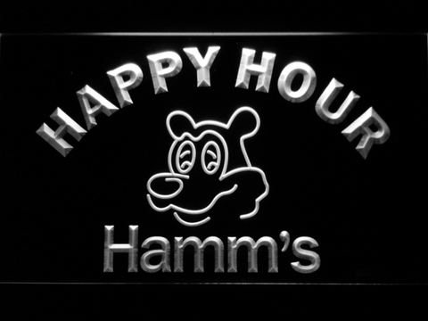 Hamm's Happy Hour neon sign LED