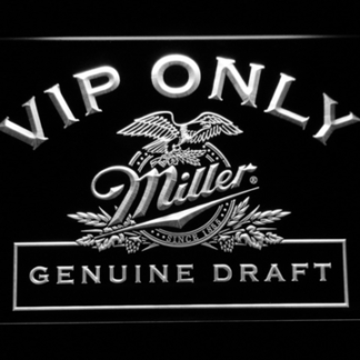 Miller Genuine Draft VIP Only neon sign LED