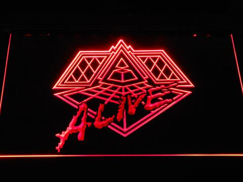 Daft Punk Alive neon sign LED
