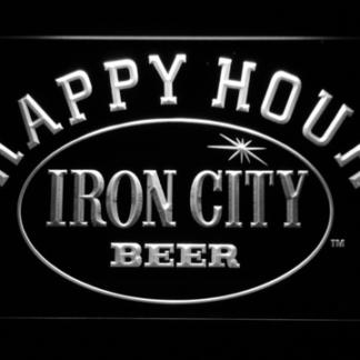 Iron City Happy Hour neon sign LED