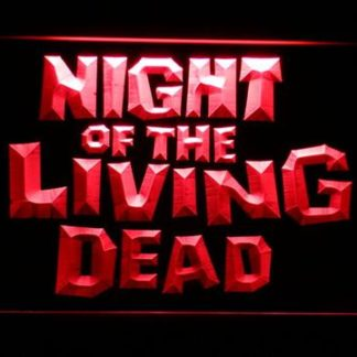 Night of the Living Dead neon sign LED
