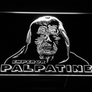 Star Wars Emperor Palpatine neon sign LED