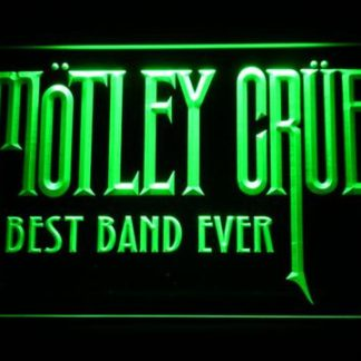 Best Band Ever Motley Crue neon sign LED